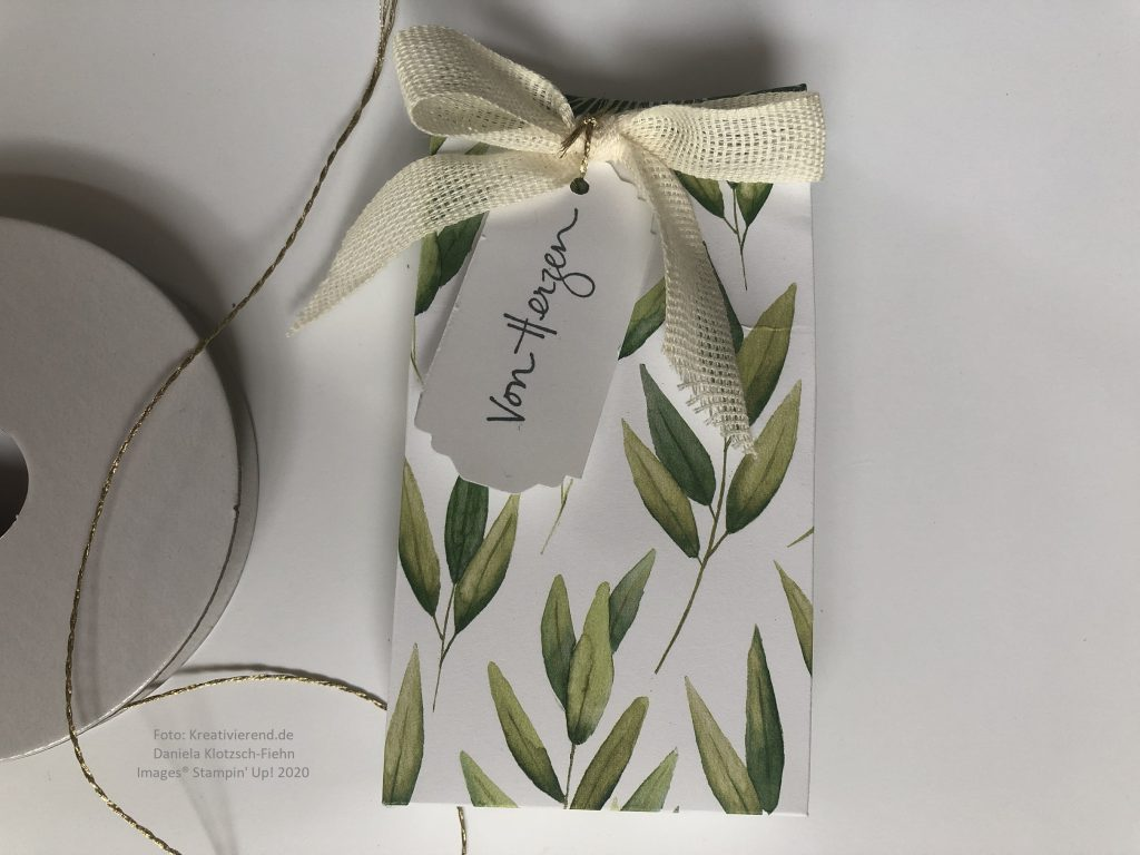 Kleine Verpackung Ewiges Grün
